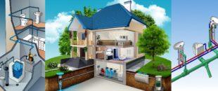 Монтаж канализации и водоснабжения