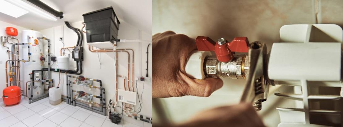 установить систему отопления